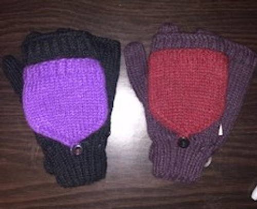 FLITTENS, Fleece-Lined, Andes Gifts - 1 pair