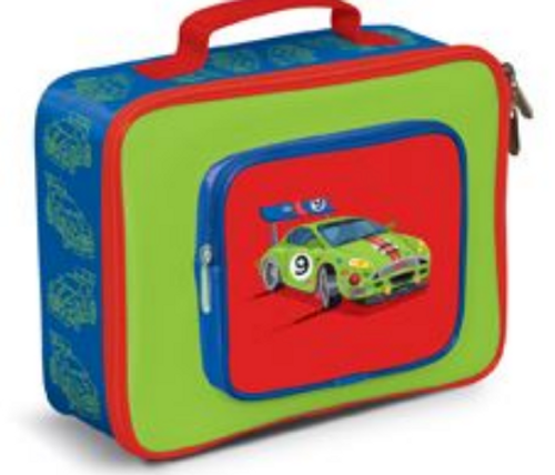 *DEAL* LUNCH BOX, Racing Car, Crocodile Creek
