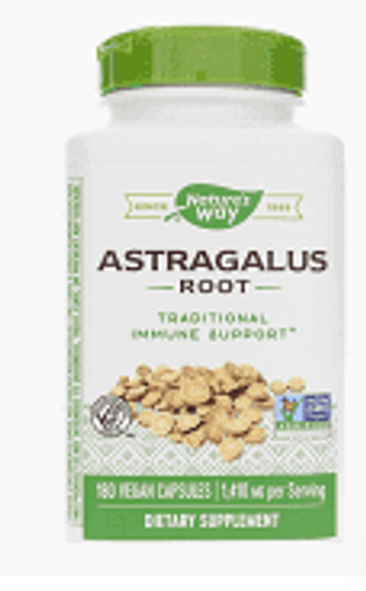ASTRAGALUS ROOT, 1 410 mg, Nature's Way - 100 vcaps