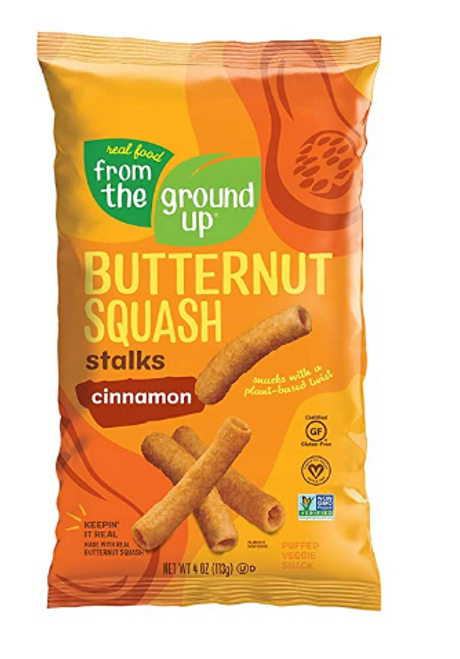 BUTTERNUT SQUASH CINNAMON STALKS, From the Ground Up, 4 oz