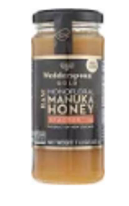 MANUKA HONEY 16 KFACTOR, RAW, 11.5 OZ glass jar