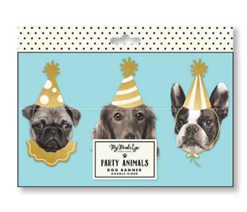 BANNER, Party Animals - Dog