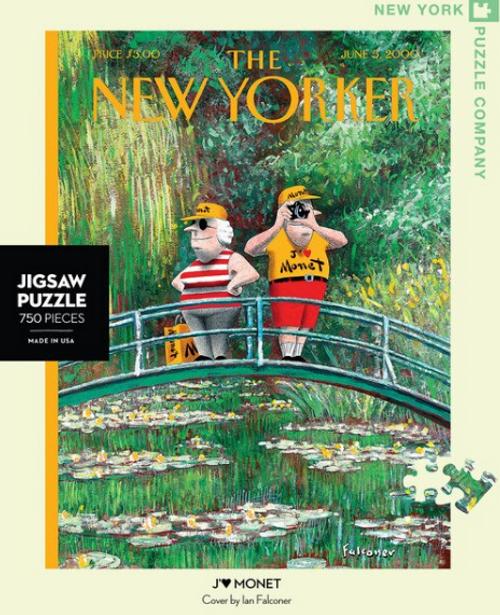 PUZZLE, J'aime Monet, NY Puzzle Co., 750 piece