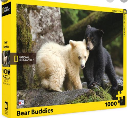 PUZZLE, Bear Buddies, NY Puzzle Co., 1000 piece