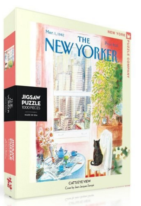 PUZZLE, Cat's Eye View, NY Puzzle Co., 1000 piece