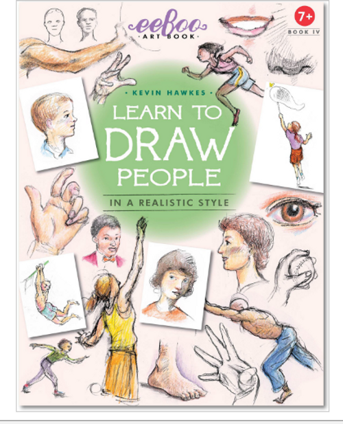 ART BOOK 4 - Learn to Draw People, Eeboo - 32 pages