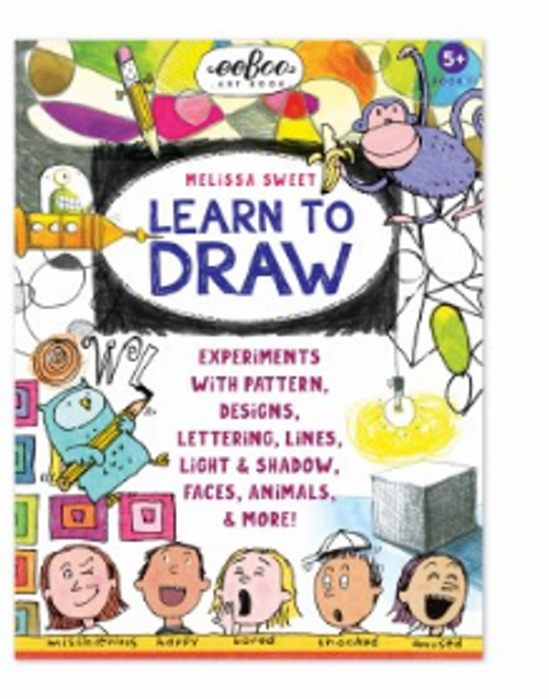 ART BOOK 2 - Drawing with Melissa Sweet, Eeboo - 32 pages