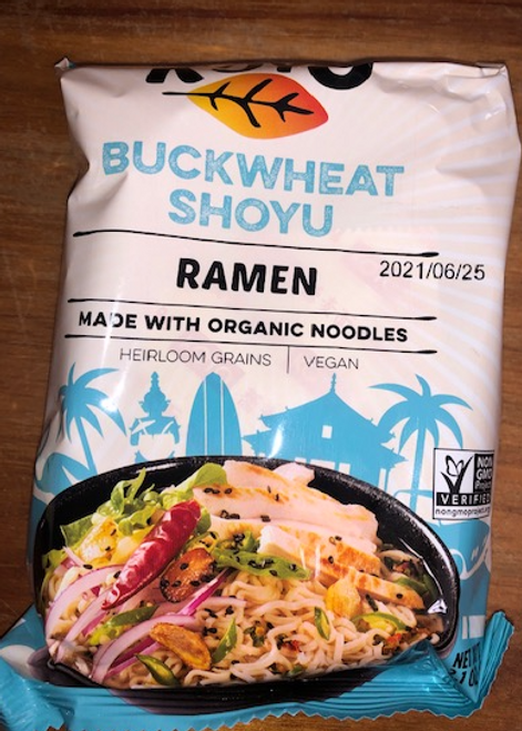 DRY RAMEN, BUCKWHEAT SHOYU, Koyo, 2.1 oz