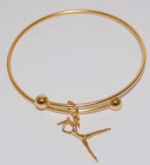 CHARM BRACELET, Dancer- Gold