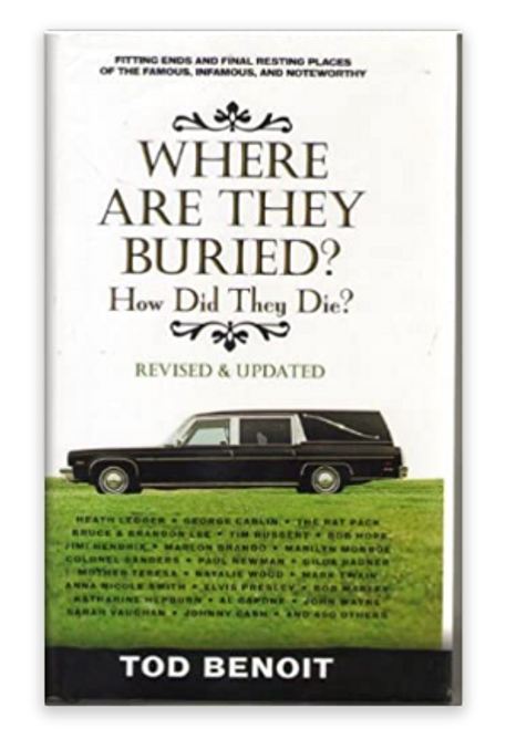 BOOK, WHERE ARE THEY BURIED? - Local TOD BENOIT