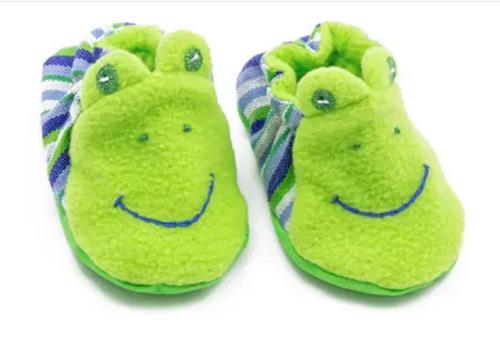 BABY BOOTIES, Upavim Crafts - Frog
