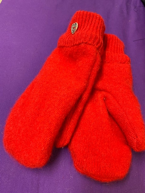"""MITTENS, Recycled Wool, LOCAL - 1 PAIR """"Bernie Approved"""""""