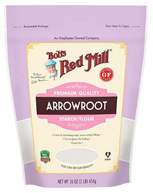 ARROWROOT STARCH/FLOUR, Bob's, 16 oz