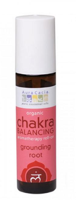 CHAKRA, ROOT ROLL ON, Organic, AURA CACIA