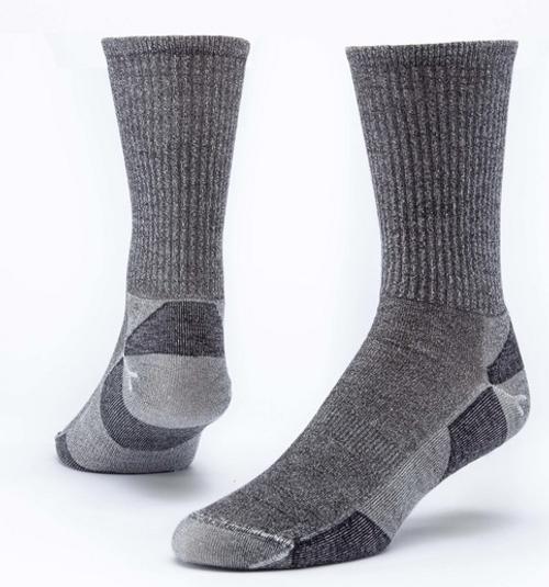 SOCKS, WOOL URBAN CREW, BLACK, Maggie's - 1 pair