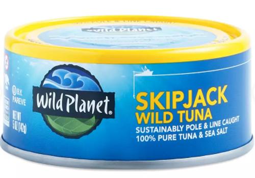 TUNA SKIPJACK, Wild Planet - 5 oz can