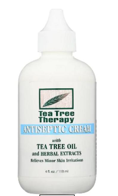 ANTISEPTIC CREAM, Tea Tree Therapy, 4 fl oz