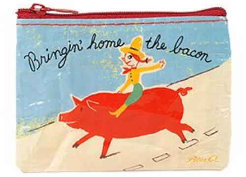 COIN PURSE, Bringin' Home The Bacon, Blue Q - Each