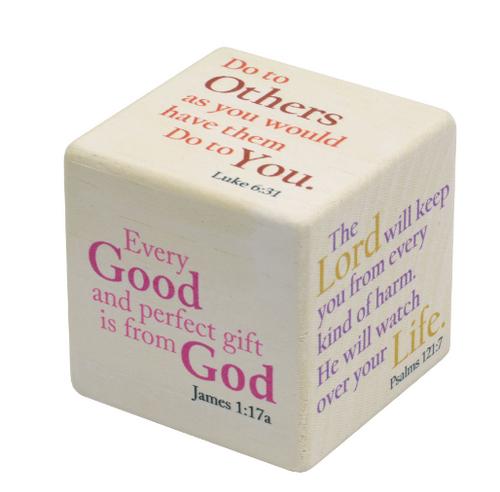 Prayer Cube, Maple Landmark - each
