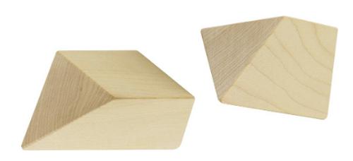 PUZZLE, PYRAMID, Wood, Maple Landmark