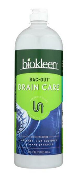 BAC-OUT DRAIN CARE, Bio-Kleen - 32 fl oz