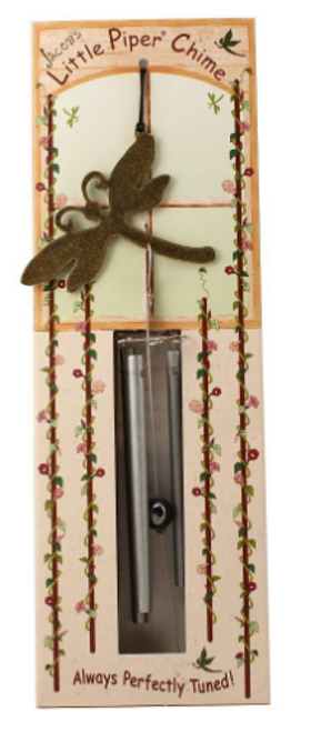 MUSICAL CHIME, DRAGONFLY LITTLE PIPER CHIME