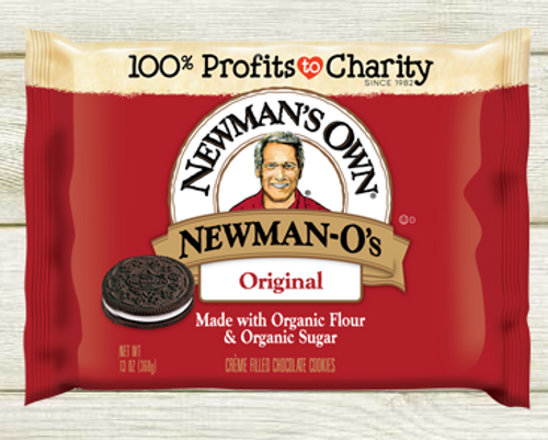 COOKIES, Newman-O's Original CREAM FILLED CHOCOLATE COOKIES, Organic - 13 oz