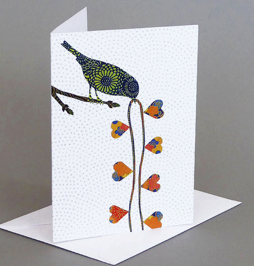 Card Heart Strings Carve Designs