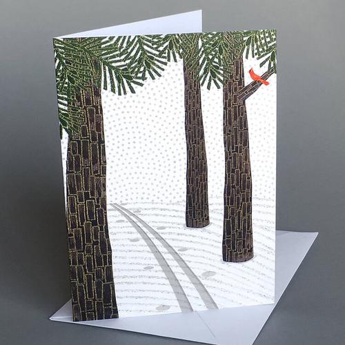 Card Ski Tracks  Carve Designs