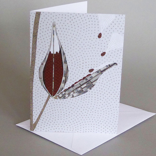 Card Milkweed Carve Designs