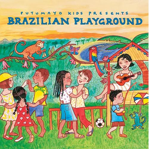CD, BRAZILIAN PLAYGROUND, Putumayo