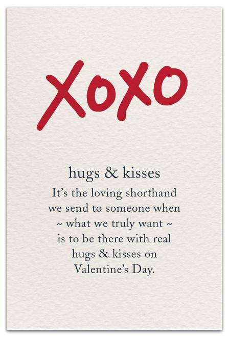 CARD Valentine XOXO Cardthartic