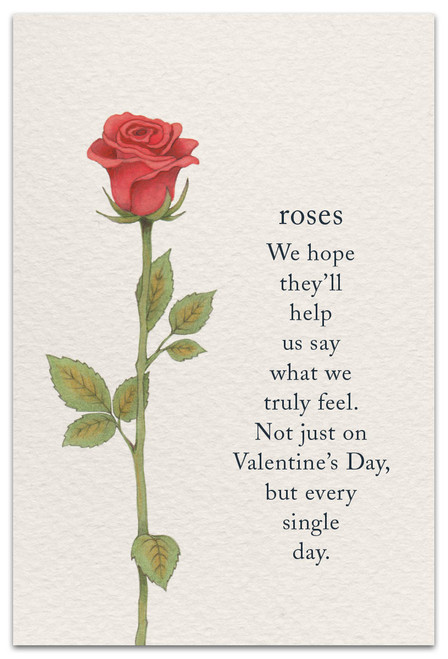 CARD Valentine  roses   Cardthartic