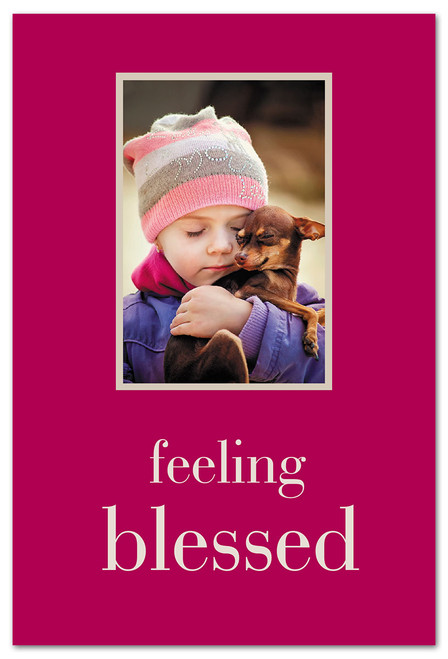 CARD Friendship  feeling blessed   Cardthartic