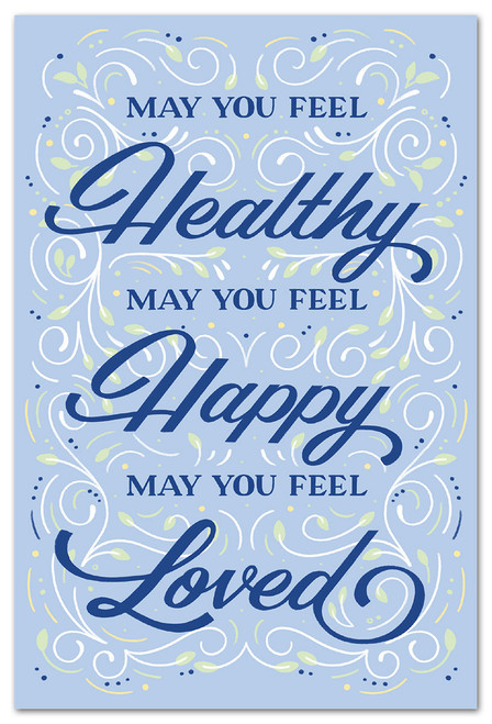 CARD Many Occasions Healthy Happy Loved  Cardthartic