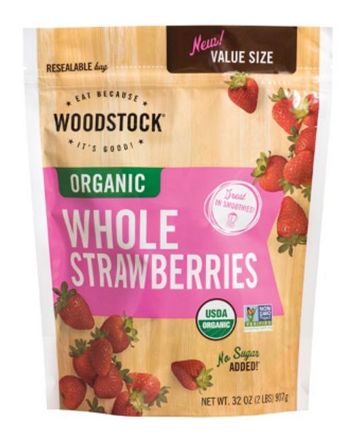 STRAWBERRIES, Organic, Woodstock, 32 oz