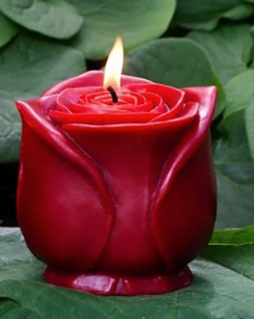 CANDLE- GRANDE ROSE- BEESWAX, Sunbeam, each