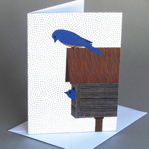 Card Bird House  Carve Designs