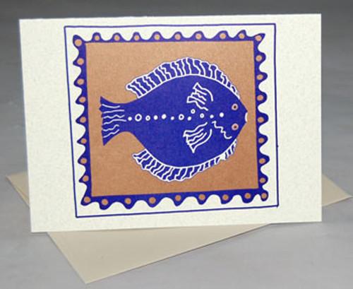 CARD Flounder/Halibut,  Semaki & Bird
