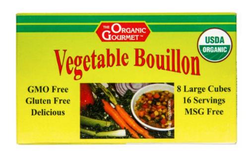 BOUILLON, VEGETABLE, Organic, Organic Gourmet, 3.1 oz