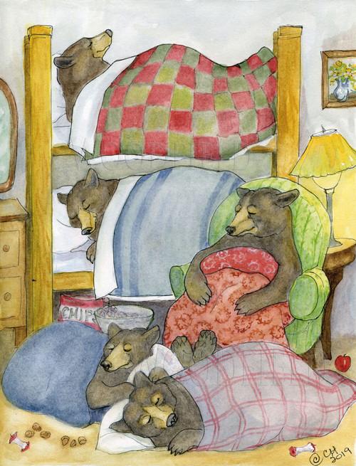 Card, Cedric's Sleepover,  Woodfield Press