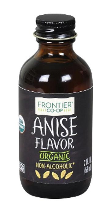 ANISE FLAVOR, Organic,  Non-Alcoholic, Frontier - 2 fl. oz.