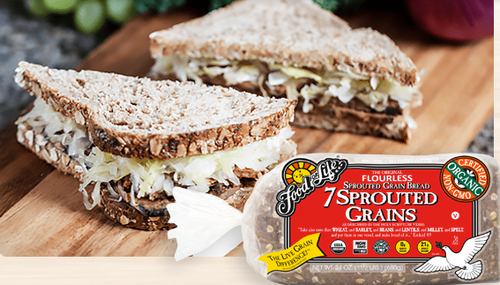 BREAD, EZEKIAL, 7 SPROUTED GRAINS, Organic - 24 oz