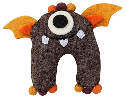 TOOTH FAIRY MONSTER, FELT with Pocket - Global Groove