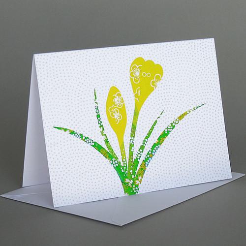 CARD  Crocus Carve Designs