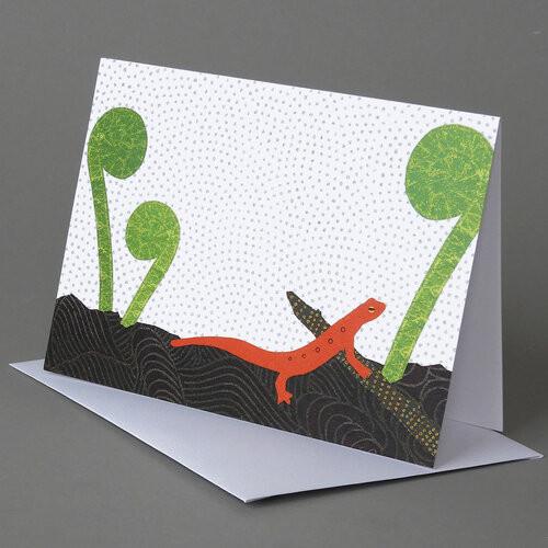 CARD  red eft   Carve Designs