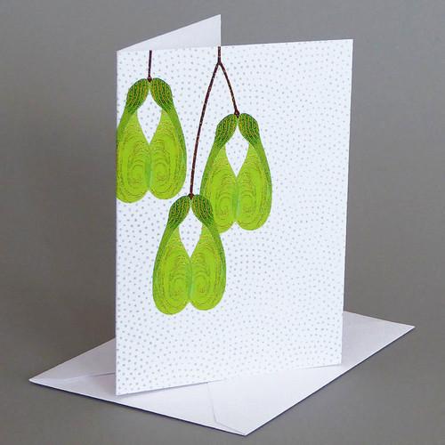 CARD  maple seeds   Carve Designs