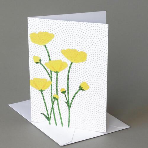 CARD  buttercups   Carve Designs