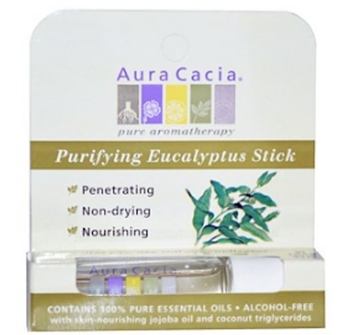 AROMATHERAPY, ROLL-ON, CLEARING EUCALYPTUS, 0.31oz