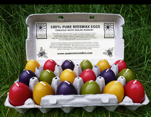 *SALE* CANDLE, SMOOTH EGG, Small- Assorted Colors